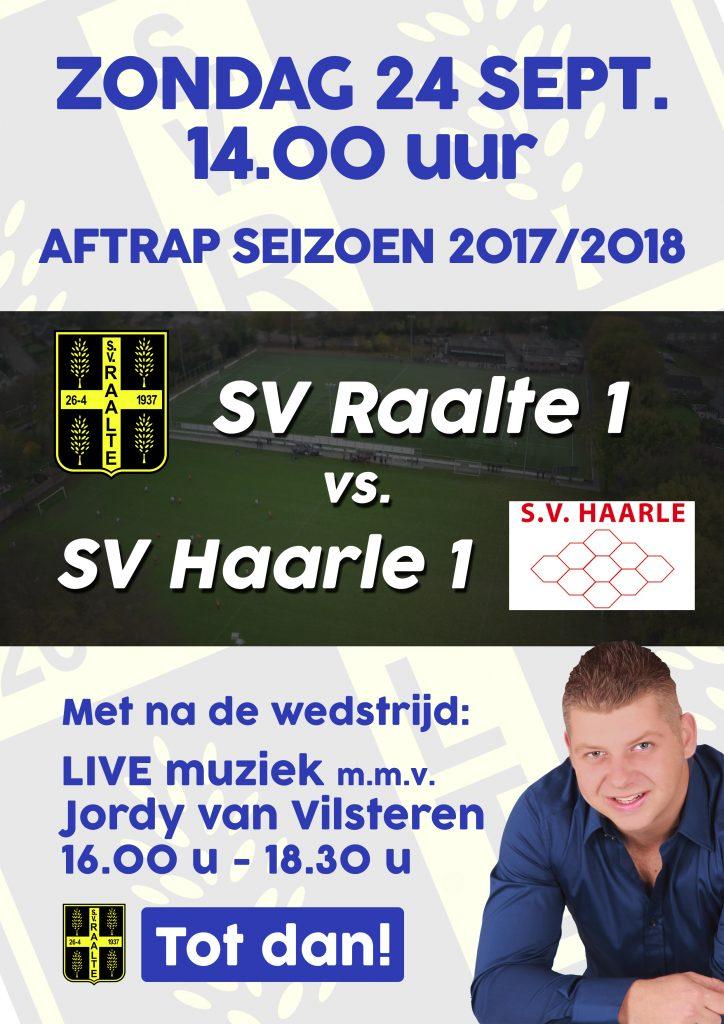 SV Raalte - Haarle 24 sept